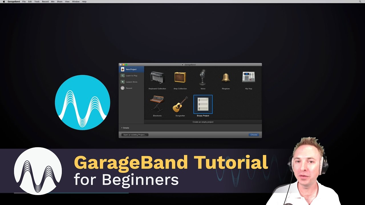 How To Record With Garageband On Mac