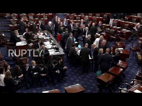 USA: Senate holds procedural vote to expand existing Russian sanctions