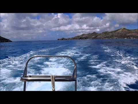 Land at Minami-jima, Chichi-jima Chain of Islands, Ogasawara Island, Japan on September 3, 2015