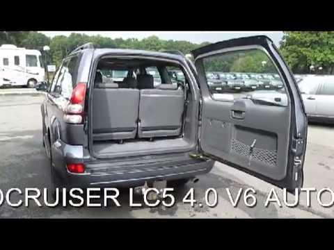 Four Runner For Sale >> FOR SALE 2003 TOYOTA LANDCRUISER LC5 V6 VVT-I 4.0 AUTO 5 DOOR 8 SEATER 4X4 - YouTube