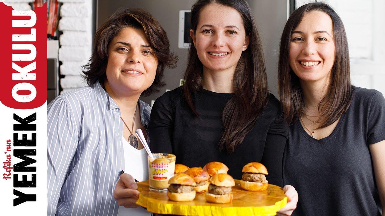 Refika ve Nefis Yemek Tarifleri ile Mini Hamburger Tarifi | 5 Dakikalık Yemekler