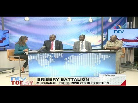 Bribery Battalion: Corruption levels in the police service - Interview