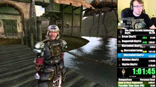 TES Anthology Any% Speedrun in 1h56m23.6s IGT - 1 / 2