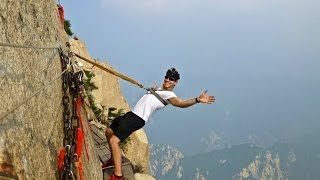 Deadliest Hike in the World: Mount Huashan, China