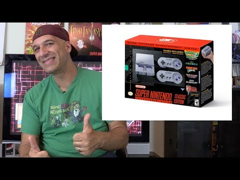 SNES Classic Mini ANNOUNCED and my thoughts - Gamester81