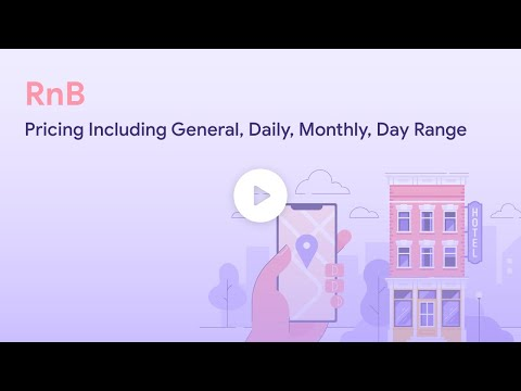 RnB Pricing Including General, Daily, Monthly, Day Range