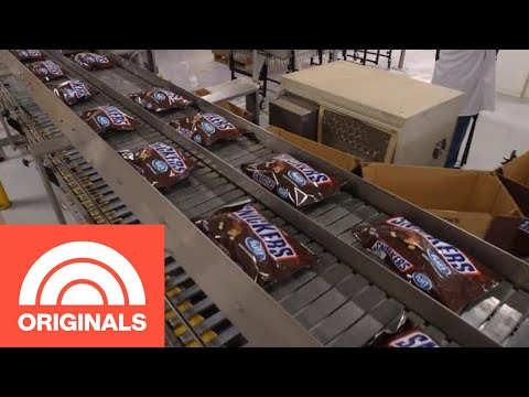How Snickers Bars Are Really Made   The Follow   TODAY