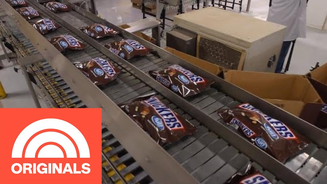 how-snickers-bars-are-really-made-the-follow-today