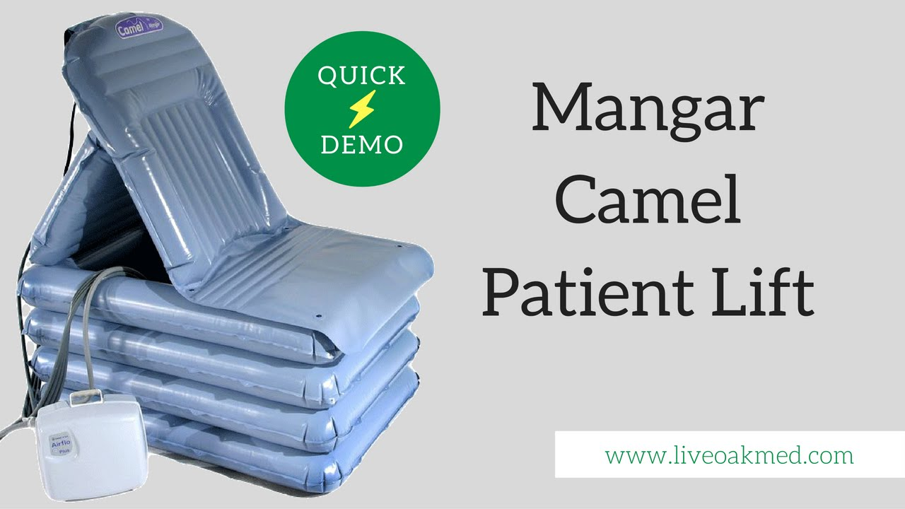 Mangar Camel Lifting Cushion - Quick Demo - YouTube