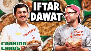 We made an Iftar Daawat in less than 45 minutes | Cooking Chaos