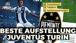 FIFA 20 Juventus Turin beste Formation, Aufstellung, Taktik und Spieleranweisungen für H2H Online