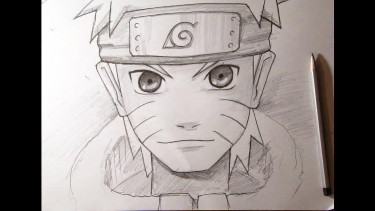 Как нарисовать аниме. Наруто. Naruto - YouTube