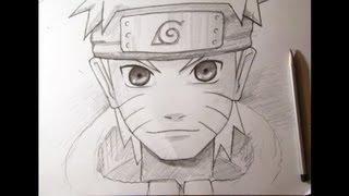Как нарисовать аниме. Наруто. Naruto(Рисую Наруто. Лучшая группа: http://vk.com/club61619523., 2013-09-12T18:59:09.000Z)