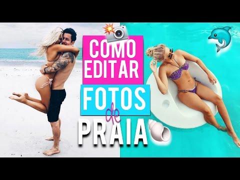 COMO EDITAR FOTOS DE PRAIA 2017 ( SEGREDOS REVELADOS ) - Lívia Brasil