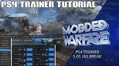 PS4 Trainer Tutorial (5.05 Jailbreak)
