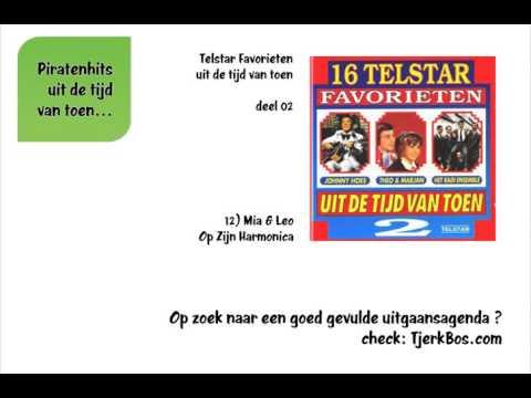 Mia & Leo - Op Zijn Harmonica (Oude Piratenhits).