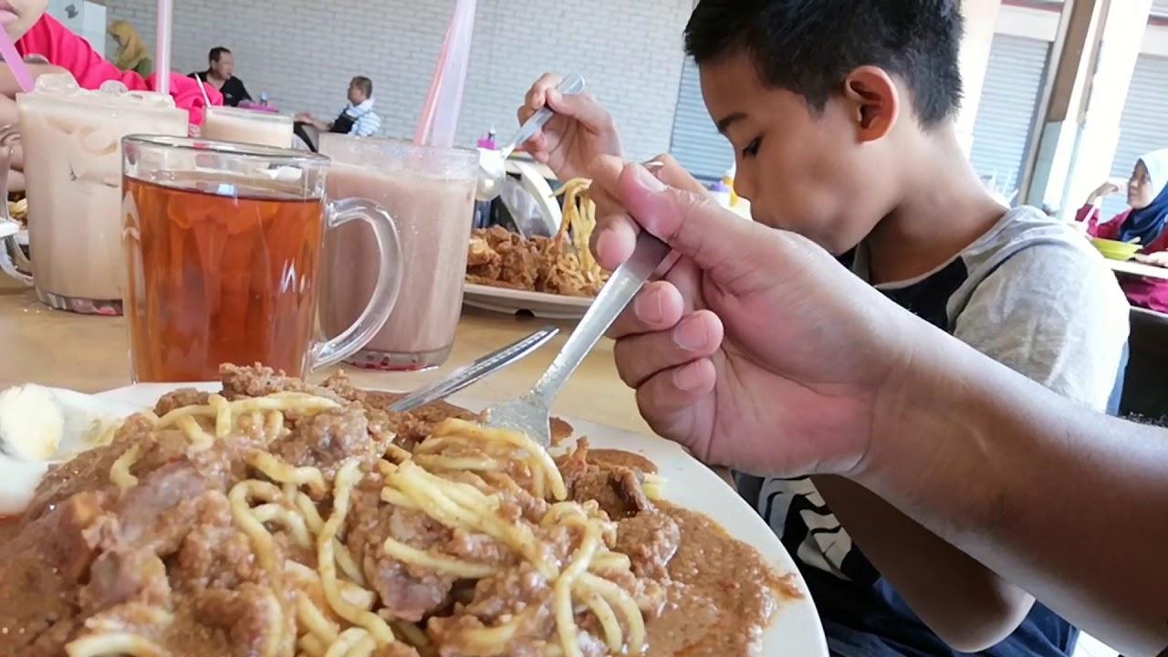 Food Taste Rojak Daging Di Hasyim Cafe Wisma Kosan Likas Kota Kinabalu Sabah
