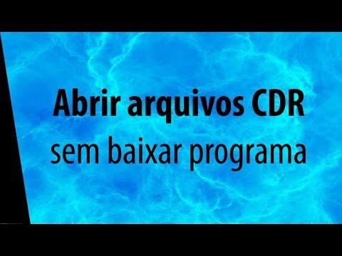 Abrir arquivos CDR Corel Draw online - sem baixar programa