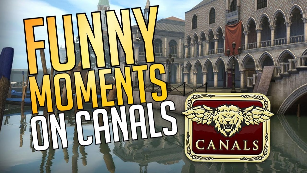 CS:GO - Funny Moments on Canals! w/ YouTubers!