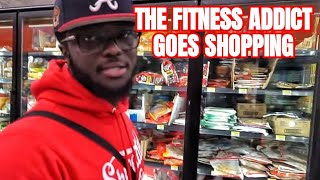 The Fitness Addict Goes Grocery Shopping To Teach People to Lean Bulk on a Budget