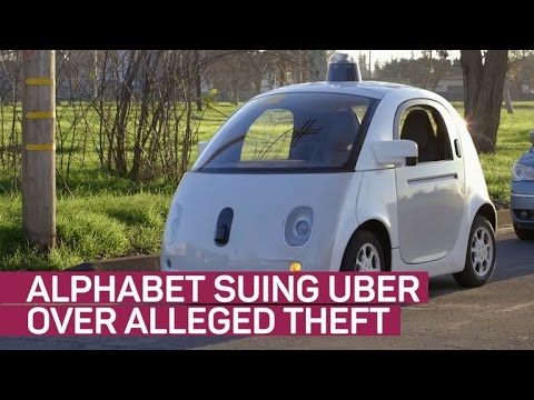 Alphabet suing Uber over patent theft