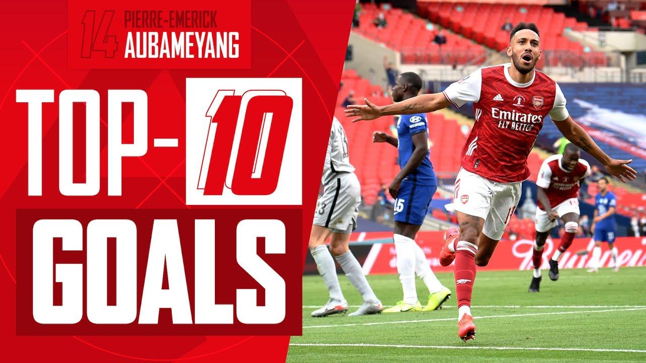 Download Ranking Pierre-Emerick Aubameyang's Top 10 goals for Arsenal