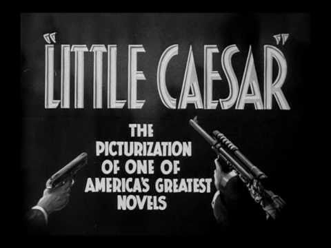 Little Caesar (1931) Trailer