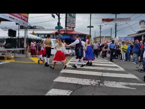 Italian Market Festival dance