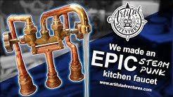 Making our EPIC Steampunk Bus Faucet