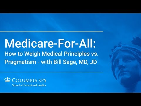 Ethics For Lunch: Medicare-for-All: How To Weigh Medical Principles Vs. Pragmatism