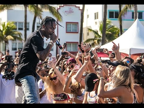 Travis Scott Live Performances 2017 w/ NAV | Big Sean | Kany