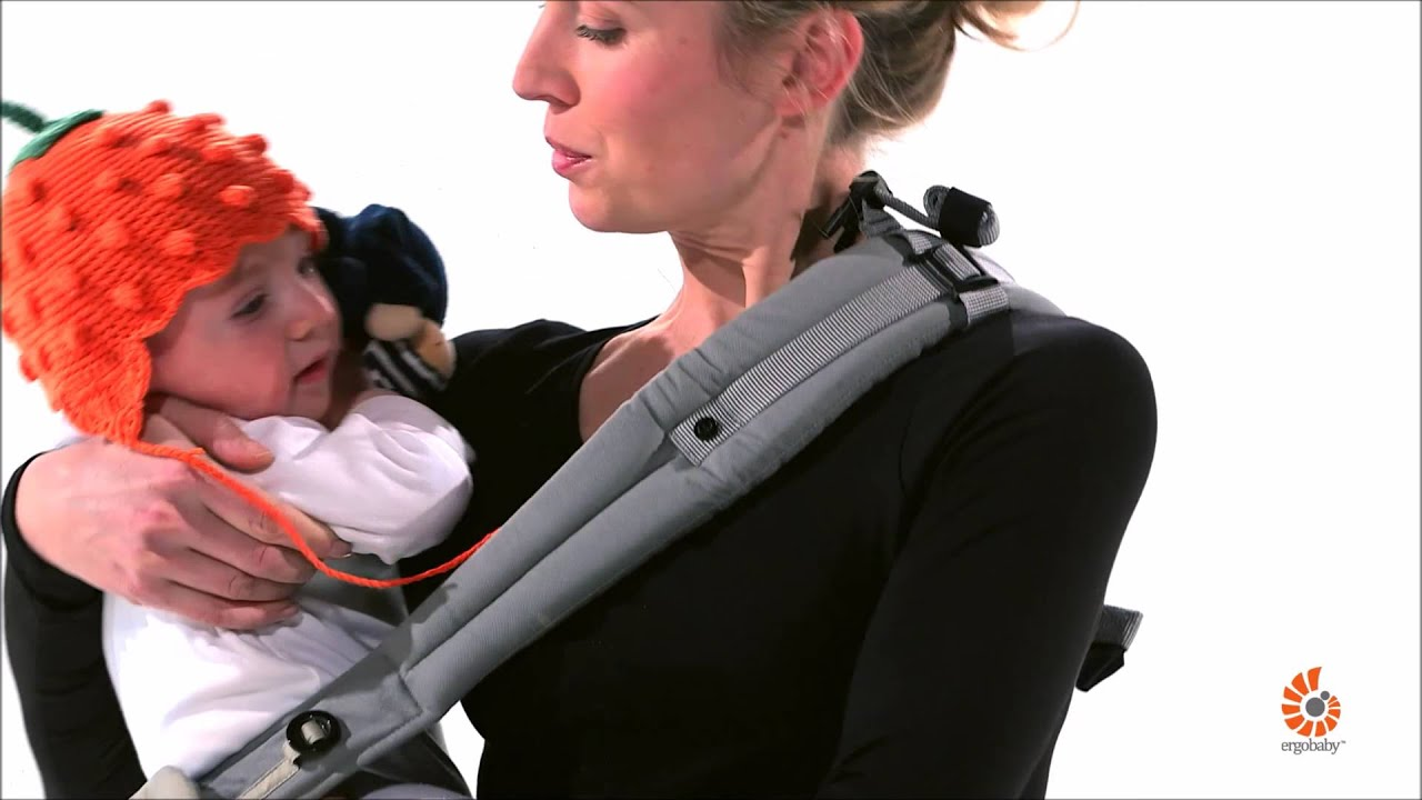 Ergobaby 360 Carrier Hip Carry Youtube