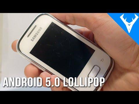 Como Atualizar Galaxy Pocket para Android 5.0 Lollipop – Português pt BR