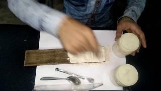 Pekar test of Chakki Atta./colour test of Chakki Atta//fssai//wheat flour analysis.