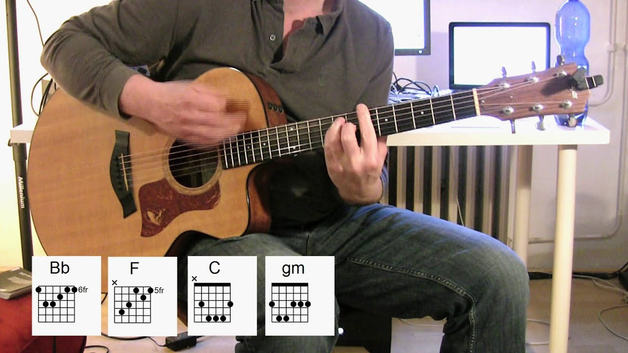 Walking On The Moon Acoustic Guitar Chords Original Vocal Track