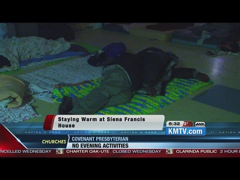 Siena/Francis House Helps homeless stay warm