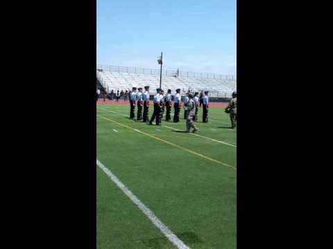 Elsinore High School AFJROTC 9 man armed regulation