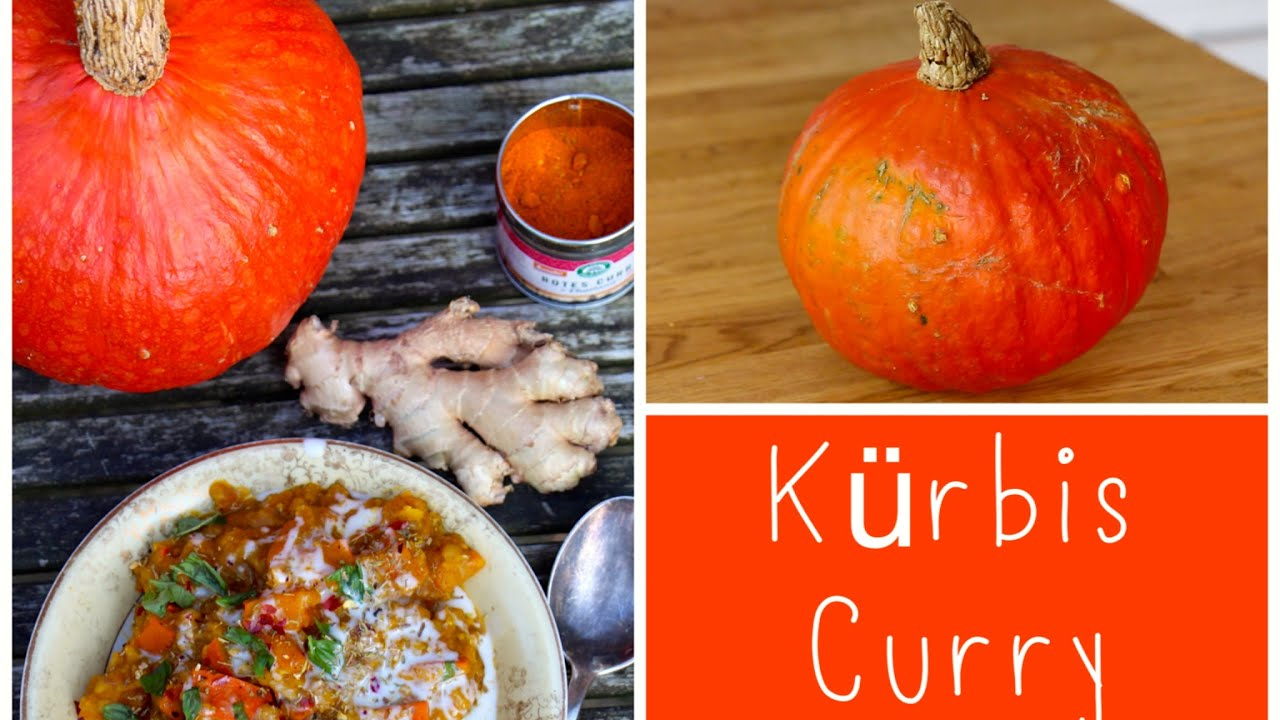 Low Budget Cooking - Rotes Kürbis-Linsen Curry - YouTube