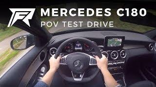 2017 Mercedes-Benz C180 - POV Test Drive (no talking, pure driving)