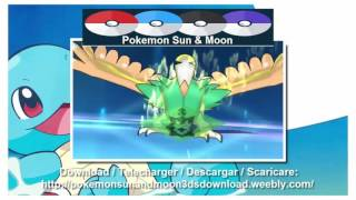 GAMEPLAY + DOWNLOAD Pokemon Sun and Moon 3DS English ROM Download 2016