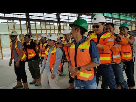 Safety Talk PT PP (persero),tbk. Dan PT PMW di area KPI PT Freeport indonesia