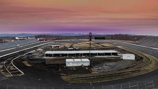 The last lap: Inside the abandoned NASCAR track that has crumbled into a eerie ruin