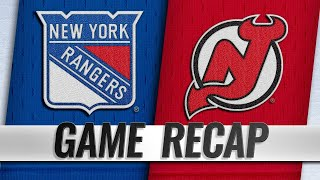 Pionk scores in OT as Rangers top Devils