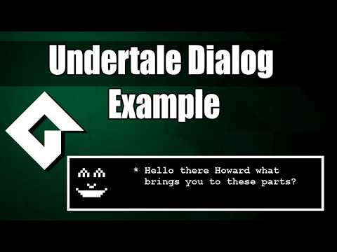 GameMaker Studio 2: Create Undertale-Like Dialog System