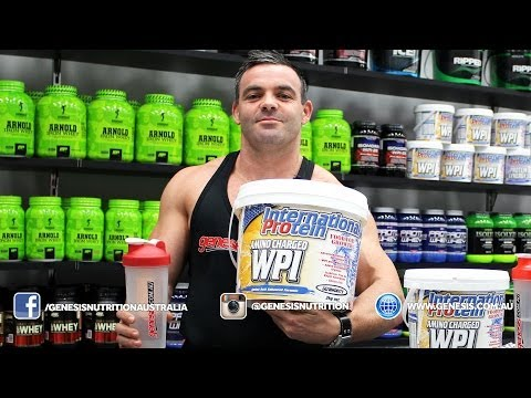 International Amino Charged WPI Protein Review Genesis.com.au - Genesis Nutrition Australia