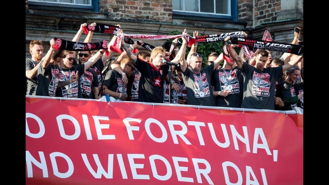 2018 Fortuna Düsseldorf Aufstiegsfeier Mit Den Toten Hosen Alles