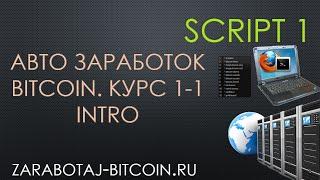 Принцип работы script1 для автозаработка bitcoin