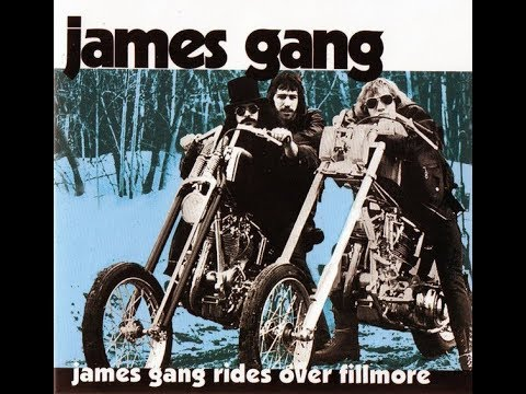 The Easy Rider Generation In Concert: James Gang Rides Over Fillmore 1970-11-21 (Joe Walsh)