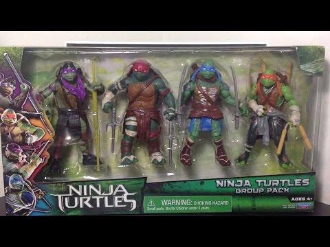 Playmates Teenage Mutant Ninja Turtles: Group Pack (Target Exclusive) Figures Review