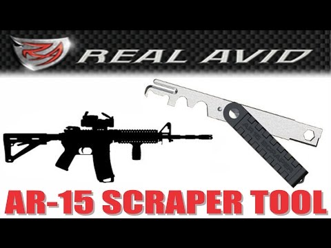 Real Avid AR15 Bolt Carrier Group Cleaning Scraper Tool Demo & Review (similar to CAT-M4 tool)